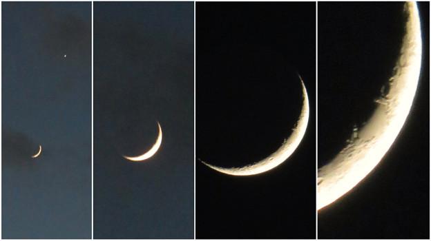 Photos: SX730HSで撮影した三日月 - 9