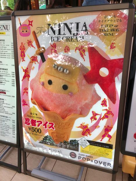 金シャチ横丁:宗春ゾーンで売ってる人気の「忍者アイス」(くノ一バージョン) - 1