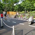 金シャチ横丁:思ってた以上に停められてた義直ゾーンの自転車バイク置き場