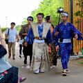 金シャチ横丁:宗春ゾーンを練り歩く「徳川義直、宗春と忍び衆」 - 1