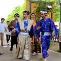 金シャチ横丁:宗春ゾーンを練り歩く「徳川義直、宗春と忍び衆」 - 2