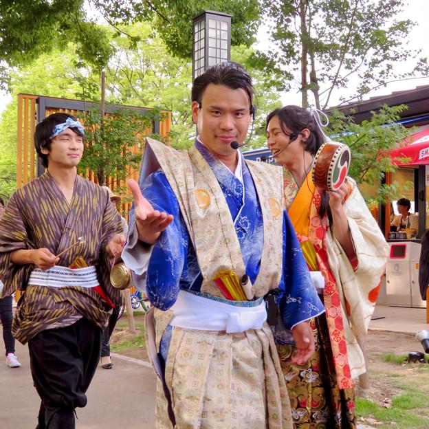 金シャチ横丁:宗春ゾーンを練り歩く「徳川義直、宗春と忍び衆」 - 3
