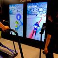 JPタワー名古屋1階でSamusungの「Galaxy S9」のPRイベント - 2:スキー滑降体験