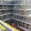 名古屋城:石垣調査用の足場を設置?(2018年6月17日) - 4