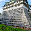 名古屋城:石垣調査用の足場を設置?(2018年6月17日) - 28