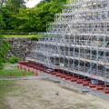 名古屋城:石垣調査用の足場を設置?(2018年6月17日) - 31