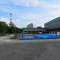 Photos: 名古屋城:愛知県体育館前に置かれていた…足場? - 1