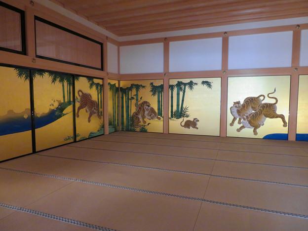 名古屋城本丸御殿 - 4:障子に描かれた虎