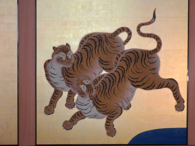 名古屋城本丸御殿 - 5:障子に描かれた虎