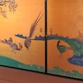 名古屋城本丸御殿 - 10:障子に描かれたキジ