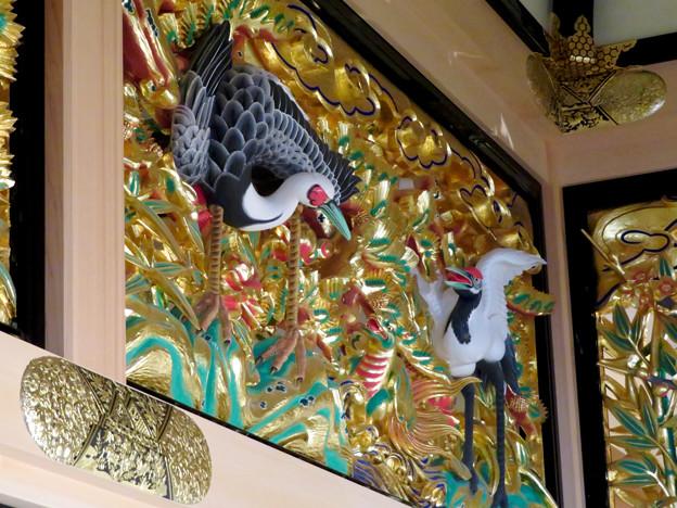 名古屋城本丸御殿 - 46:欄間のツル