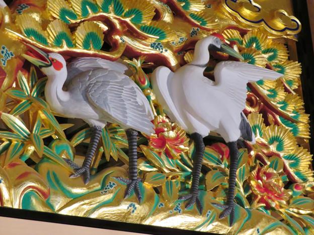 名古屋城本丸御殿 - 47:欄間のツル
