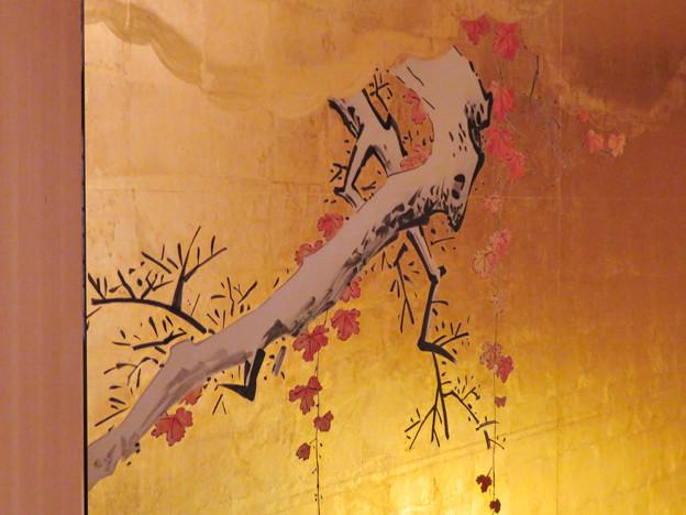 写真: 名古屋城本丸御殿 - 55:障子に描かれた梅