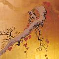 名古屋城本丸御殿 - 55:障子に描かれた梅