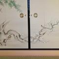 写真: 名古屋城本丸御殿 - 56:障子に描かれた梅