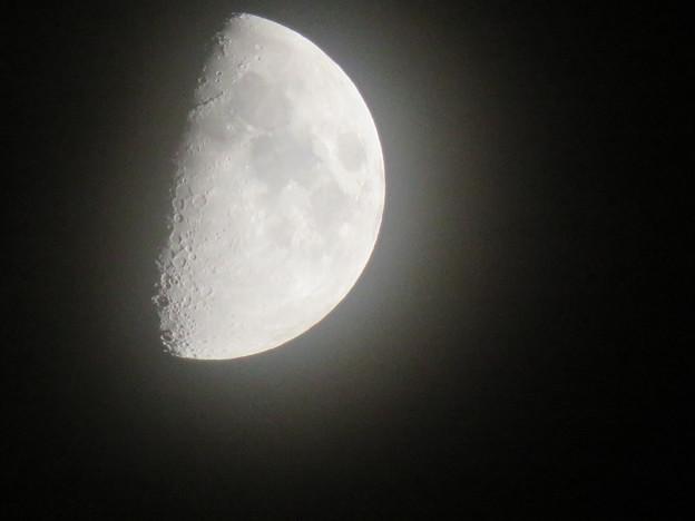 SX730 HSで撮影した半月(無修正) - 2
