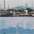 写真: 犬山丸の内緑地から見えた小牧山越しの名駅ビル群 - 6