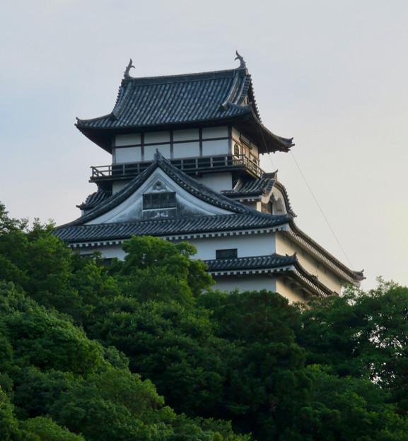 夕暮れ時の犬山城 - 6