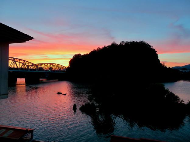 Photos: 犬山橋付近で見た綺麗な夕焼け - 2