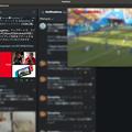 写真: VivaldiでTweetDeckを開きつつ、Operaのビデオポップアウトでワールドカップを視聴!