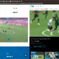 写真: Vivaldi:タブタイリングで2つのワールドカップ動画を同時視聴! - 1