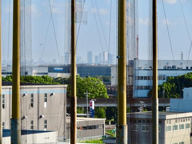 フレッシュパーク展望台から見た名駅ビル群 - 1