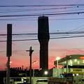 写真: 春日井市西山町に妖しげな塔!?(たぶん携帯の電波塔) - 2
