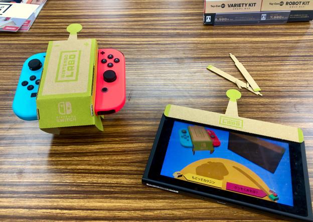 ヨドバシカメラ名古屋松坂屋店で行われてた「Nintendo Labo」の体験会 - 4