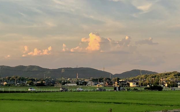 夏らしい雲(2018年7月22日) - 2