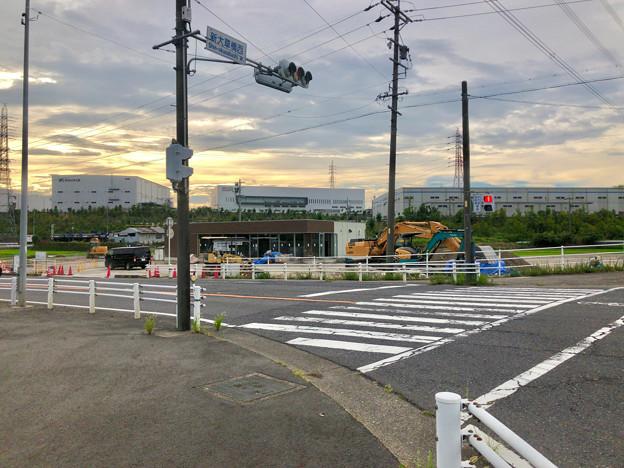 国道155号の新大草橋西交差点にファミマが建設中!9月オープン! - 1
