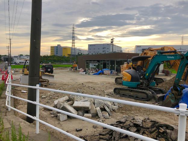 国道155号の新大草橋西交差点にファミマが建設中!9月オープン! - 4
