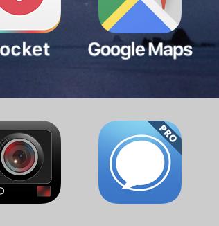 Echofon Pro:アップデートで再びアイコンに「Pro」!?