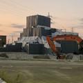 建て替え工事中(?)の朝宮公園のプール - 2