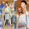 ナナちゃん人形:セントレア - 鹿児島間の航空路線開通をPR - 16