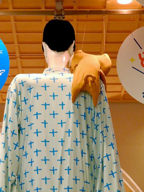 ナナちゃん人形:セントレア - 鹿児島間の航空路線開通をPR - 12