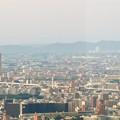 ミッドランドスクエア41階から見た景色 - 3:ザ・シーン城北と遠くに見えるスカイステージ33