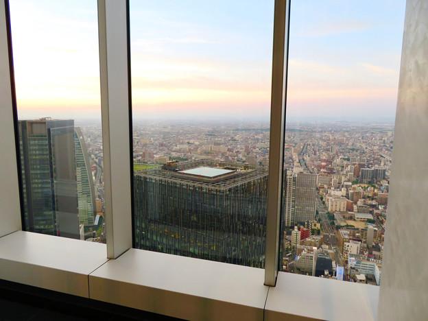 ミッドランドスクエア41階から見た景色 - 4:北西側