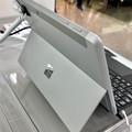 Photos: 店頭展示が始まったばかりの「Surface Go」 - 3:背面(スタンド使用時)
