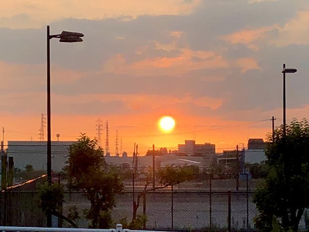 写真: 印象に残った今日の夕日 - 1
