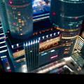 SX730HS ミニチュアライズ:スカイプロムナードから見た夜景 - 4(セントラルタワーズ)