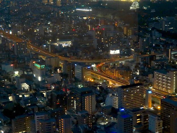 スカイプロムナードから見た景色 - 15:名古屋高速の明道町JCT