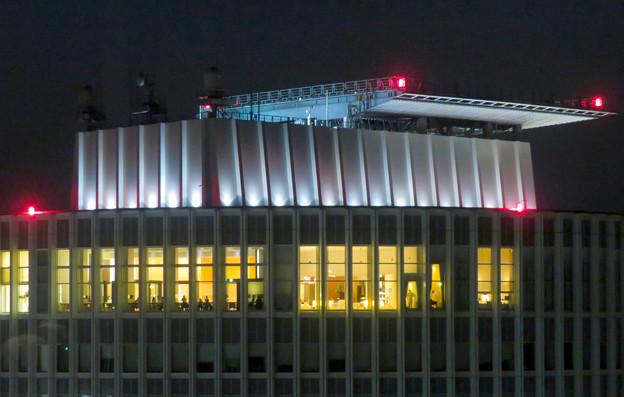 ミッドランドスクエア「スカイプロムナード」から見たセントラルタワーズ頭頂部 - 6