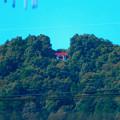 桃花台ニュータウンから見た尾張白山神社 - 1