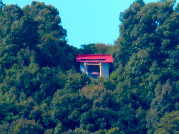 桃花台ニュータウンから見た尾張白山神社 - 2