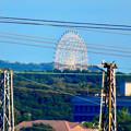 落合公園 水の塔から見た景色 - 5:愛・地球博記念公園の大観覧車