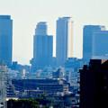 Photos: 落合公園 水の塔から見た景色 - 20:名駅ビル群と名古屋城