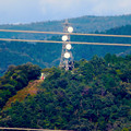 Photos: 落合公園 水の塔から見た景色 - 25:パラボラアンテナのある鉄塔