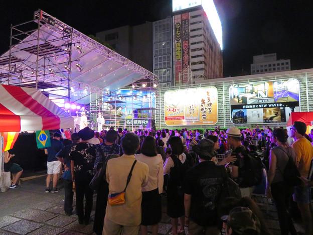 広小路夏まつり 2018(2日目) - 1:栄広場のライブ会場