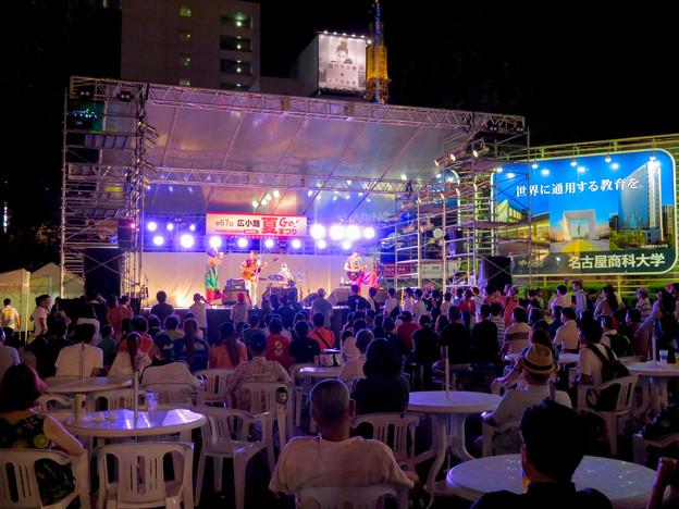 広小路夏まつり 2018(2日目) - 23:栄広場のライブ会場