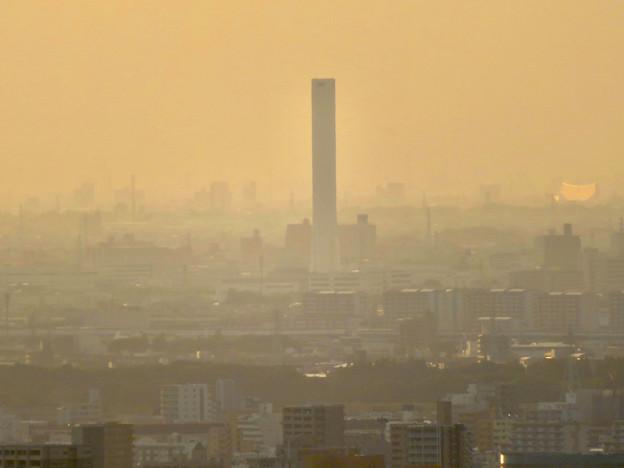 東山スカイタワーから見た景色:三菱電機稲沢製作所 - 2